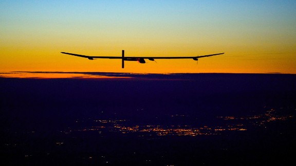 Solar Impulse 2 is the upgraded version of a prototype, pictured here, that made history in 2010 by becoming the first solar aircraft capable of flying overnight.