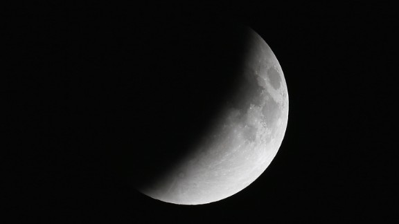 The moon has to be full for the total lunar eclipse to occur.