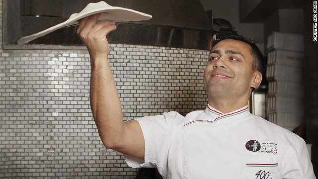 At Italy's annual Pizza World Championship, Australian Johnny Di Francesco took the prize for top margherita pizza.