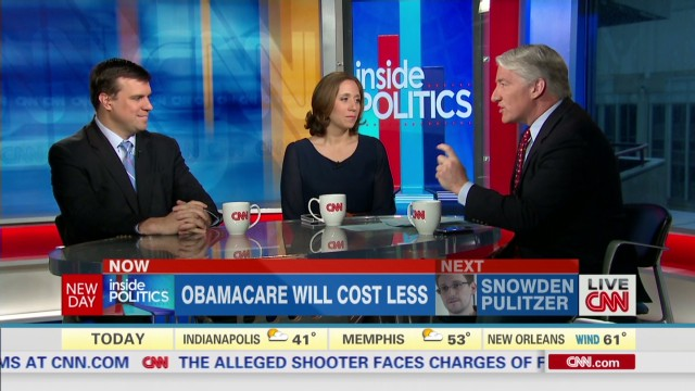 Inside Politics: Obamacare will cost less_00003925.jpg