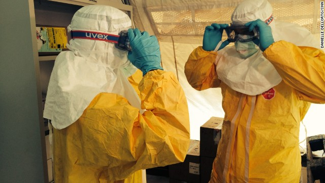 Ebola epidemic 'out of control'