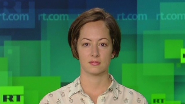 'Russia Today' host discusses Ukraine