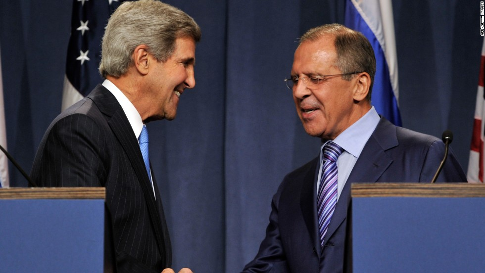 Kerry calls Lavrov about military buildup in Syria