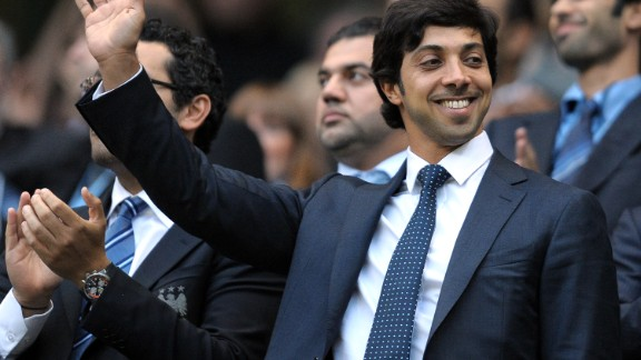 Manchester City is funded by  Sheikh Mansour, the deputy prime minister of the United Arab Emirates. Mansour, who purchased City in 2008, has bankrolled the club to the Premier League title and into the Champions League.