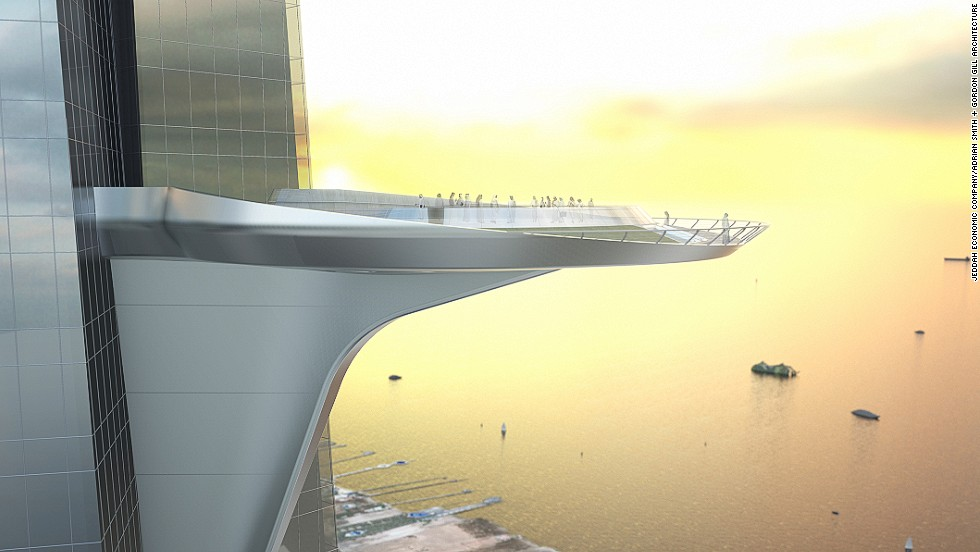 There are plans for a 98-foot sky terrace on the 157th floor. When completed, it will be the highest terrace in the world.