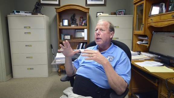 Mayor Tommy Muska discusses the town