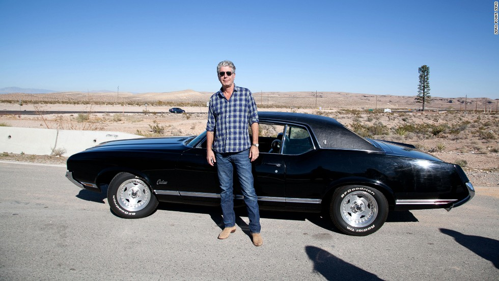 "Anthony Bourdain stands on the outskirts of Las Vegas, a city known for its overindulgence. He traveled to Sin City to sample its cuisine and film an episode of ""<a href=""http://www.cnn.com/video/shows/anthony-bourdain-parts-unknown/season-3/las-vegas/index.html"">Parts Unknown</a>."""