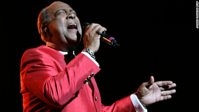 Cheo Feliciano performs on June 20, 2008, at The Theater at Madison Square Garden in New York.