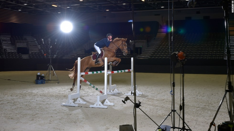 The FEI's Director of Dressage, Trond Asmyr, hoped to create images which would help newcomers to equestrian sport to understand ballet's similarity to dressage, as well as jumping.