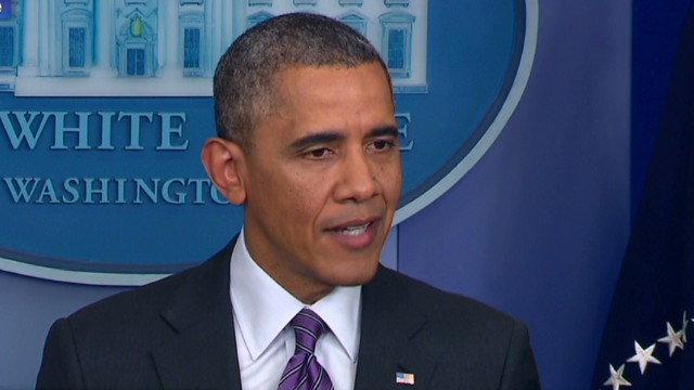 Obama comments on Ukraine talks