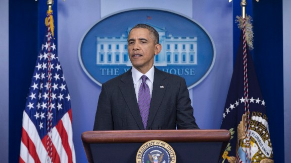 President Barack Obama speaks about health care, Thursday, April 17, 2014, in the briefing room of the White House in Washington. The president said eight million have signed up for health insurance under Affordable Care Act. (AP Photo/Carolyn Kaster)
