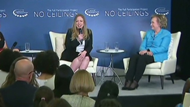 Chelsea Clinton: We're expecting!