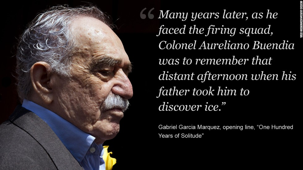 Gabriel Garcia Marquez, Nobel Prize winning author, dies at 87   CNN