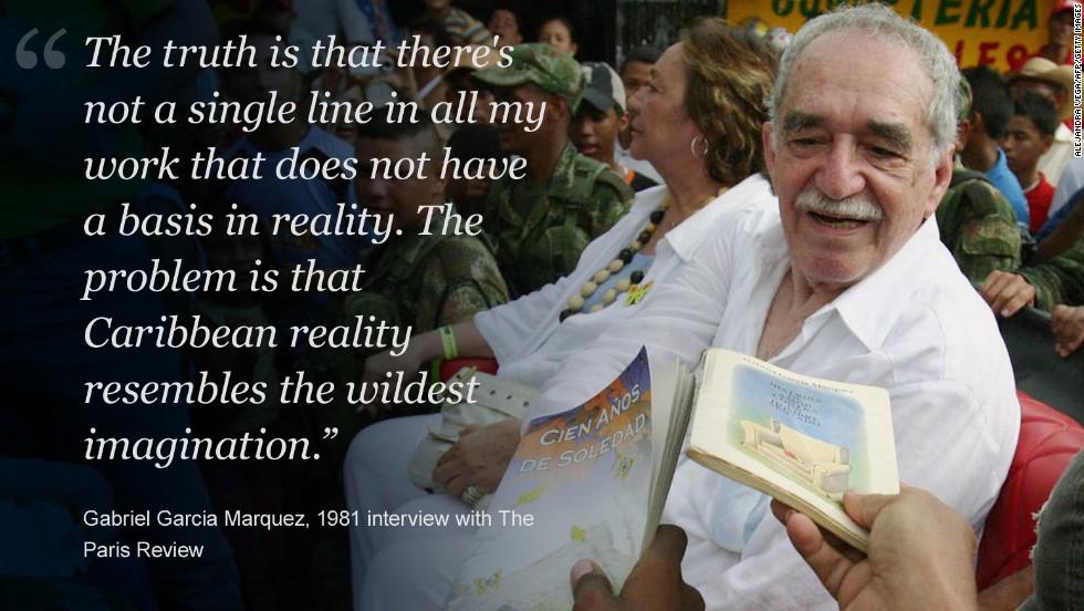 Gabriel Garcia Marquez Nobel Prize Winning Author Dies At