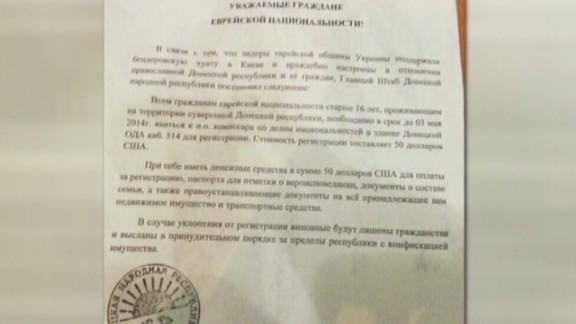 Leaflet tells jews to register in Eastern Ukraine Black Earlystart _00005817.jpg