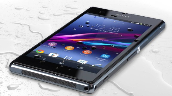 This is the second generation of the Sony phone with an unusual claim to fame: The company says it