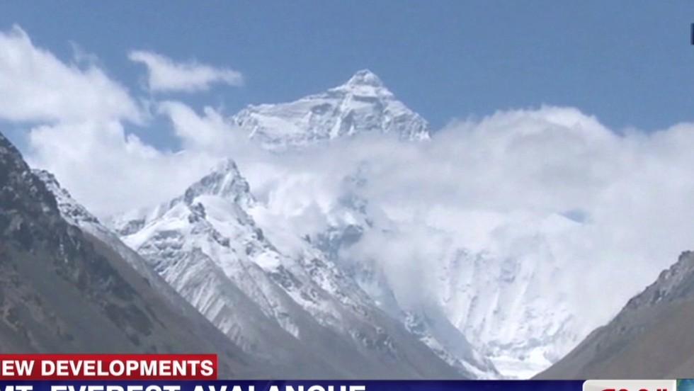 Khumbu Icefall Avalanche
