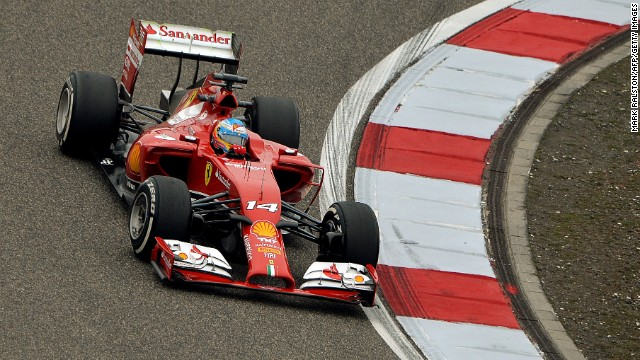 Fernando Alonso put a poor start to the season behind him with fast laps during practice for the Chinese Grand Prix in Shanghai.
