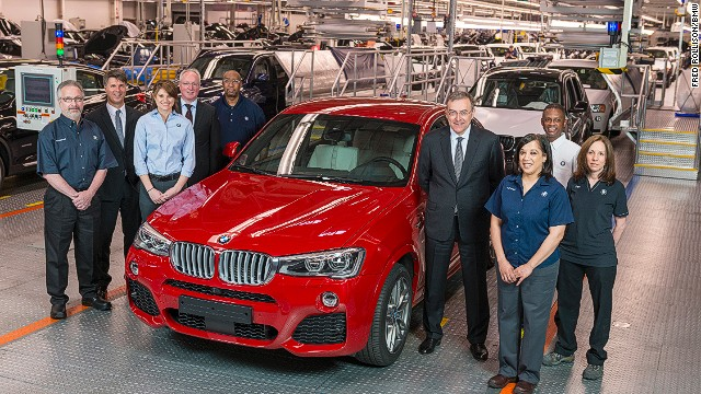 BMW to produce 450,000 cars in the US