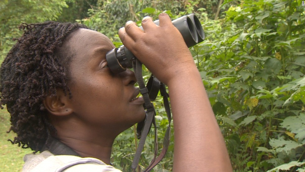 "She is the founder of the non-profit group ""Conservation Through Public Health,"" working to create an environment where gorillas and the people who live near them can coexist safely."