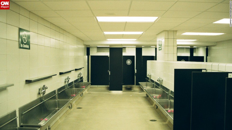 "<a href=""http://ireport.cnn.com/docs/DOC-1122484"">Briddick</a> says everyone knows about the urinal troughs at Wrigley Field. ""They are an odd feature that most men's rooms don't have,"" he said. ""I took the photo because it was the only time I've been in the men's room when there wasn't a huge line with a ton of dudes."""