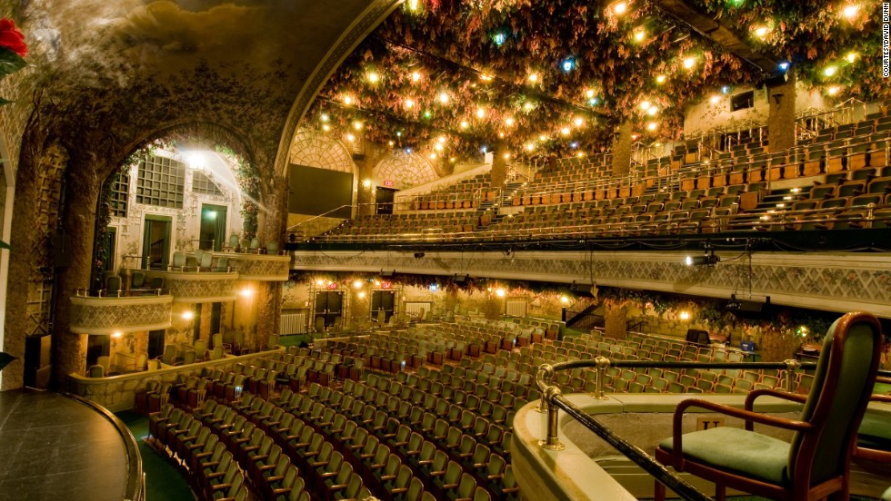15 of the worlds most spectacular theaters cnn travel - Winter Garden Theater Nyc
