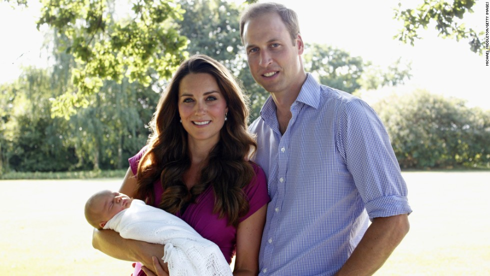 "The ""Kate Effect"" is now a well-documented phenomenon. This picture of new mother Kate wearing maternity brand Seraphine, while posing for her first official portrait with William, increased the label's turnover by 50% in 2013."