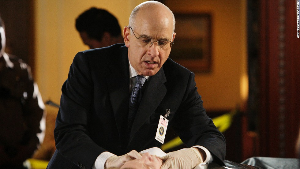 "Wyner has continued his string of lawyers, judges and doctors, with appearances in ""The Mentalist"" (shown here) as a coroner, ""Desperate Housewives"" as a doctor and ""Days of Our Lives"" as a judge. He was also the camp director in ""American Pie 2."""