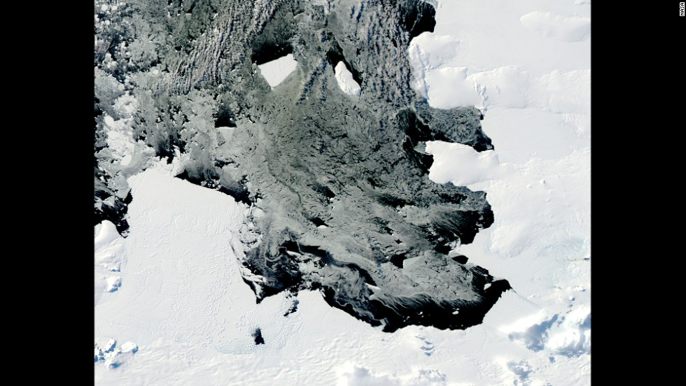 By March 2014, the B31 iceberg was near an area where it could get swept up in the currents of the Southern Ocean, scientists say.