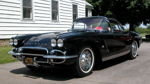"""The third car that will be restored is a 1962 beauty dubbed the """"Black Corvette. It's been deemed just too old for GM to handle. The company says it no longer has the institutional knowledge required to properly put it back in shape. That job is expected to be done by a hand-picked restoration specialist team, the museum said. """"We haven't identified who's fixing it yet."""""""