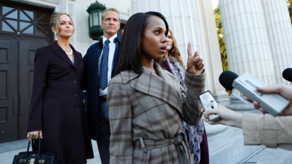 """Scandal"" Season 3 (2013) -- Fans of the ABC series will find this season memorable, if for no other reason than watching how hard they worked to hide star Kerry Washington"