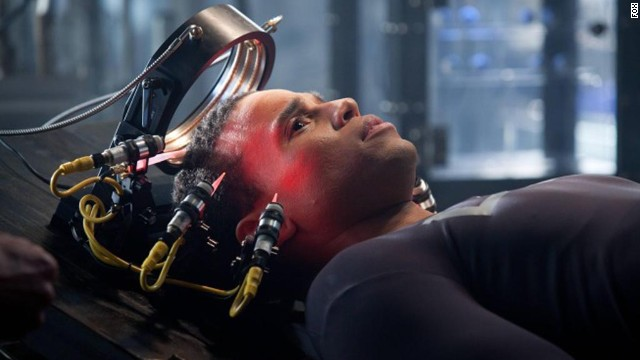 "Michael Ealy was one of the stars of Fox's robot cop drama ""Almost Human."""