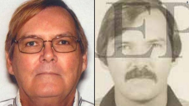 Images provided by the FBI show William James Vahey in 2013 (left) and in 1986.