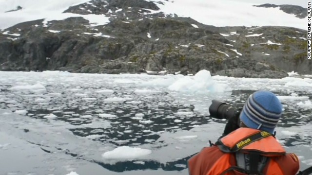 See time-lapse of glaciers vanishing