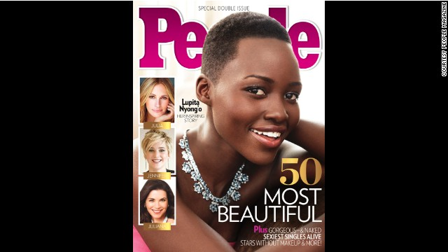 Nyong'o is People's most beautiful