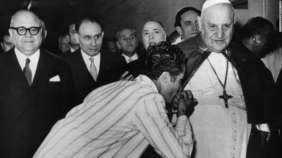 "He eschewed many of the trappings and traditions of the papacy, and opted to visit ""ordinary"" citizens in hospitals and prisons rather than shutting himself away in the Vatican."