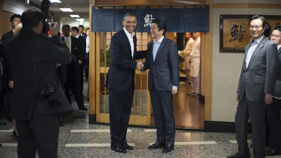 Japanese Prime Minister Shinzo Abe will play a key role in negotiating the final details of the Trans-Pacific Partnership with President Barack Obama's administration.