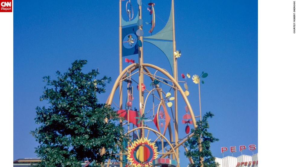 "The Tower of the Four Winds stood in front of Disney's ""It's a small world."""
