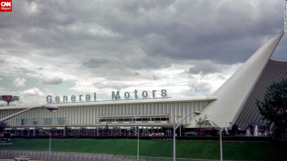 General Motors returned to the fair after its Futurama exhibit at the 1939 New York World's Fair.