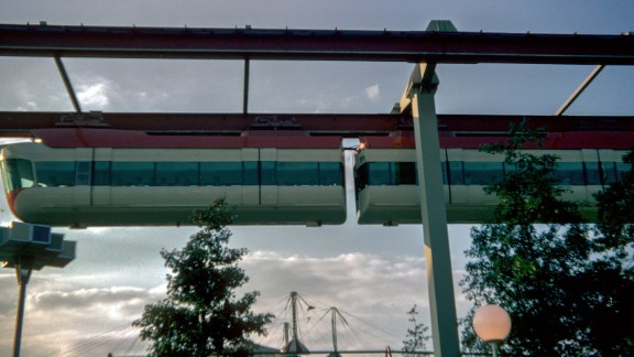 """The monorail at the fair was called the """"transportation of the future."""""""