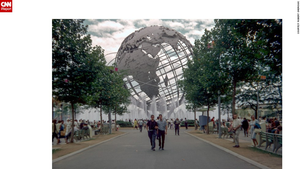 The Unisphere was the first thing you saw when you entered the park, says Ondrovic, who still visits from time to time.