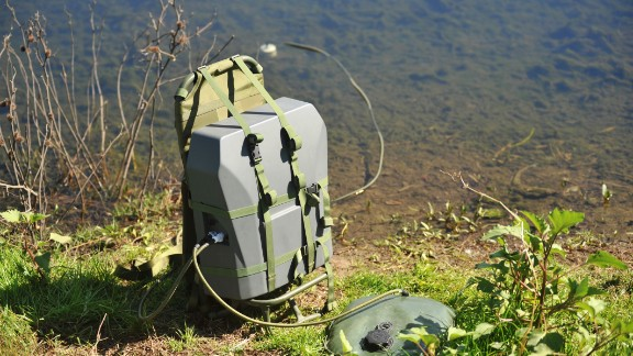 """""""Spring"""" is its portable water treatment unit, which purifies contaminated water."""