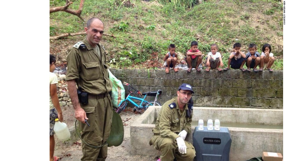 In 2013, the Israel Defense Forces took Spring to the Philippines after Typhoon Haiyan, using it to filter dirty water into drinking water.