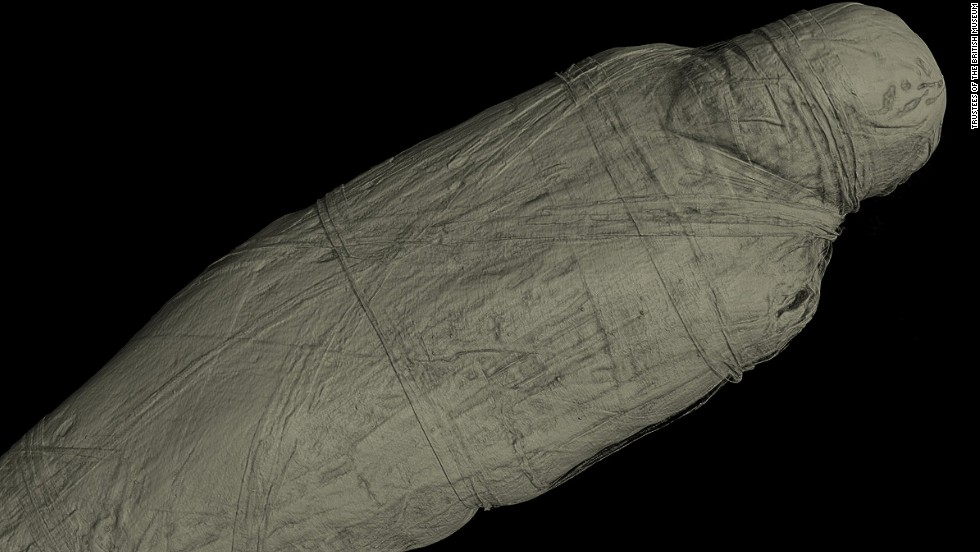 The unknown man, who died around 600 BC, was originally stored in a coffin meant for a female. CT scans revealed that the mummy was in fact male, and likely put in the coffin by accident.
