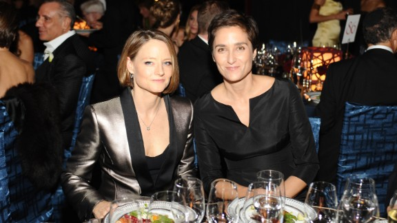 Jodie Foster, left, is adept at keeping her private life low-key. The actress quietly wed her girlfriend, photographer Alexandra Hedison, in mid-April 2014. According to E! Online, the couple had been dating for almost a year.