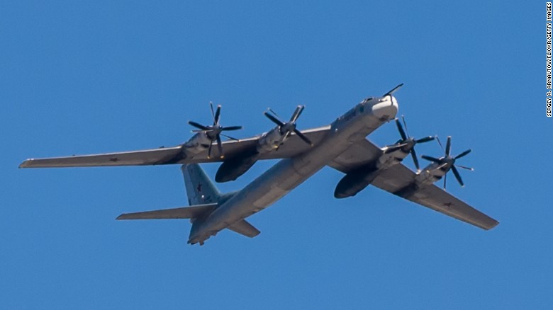 NATO scrambles jets 10 times to track Russian military planes across Europe