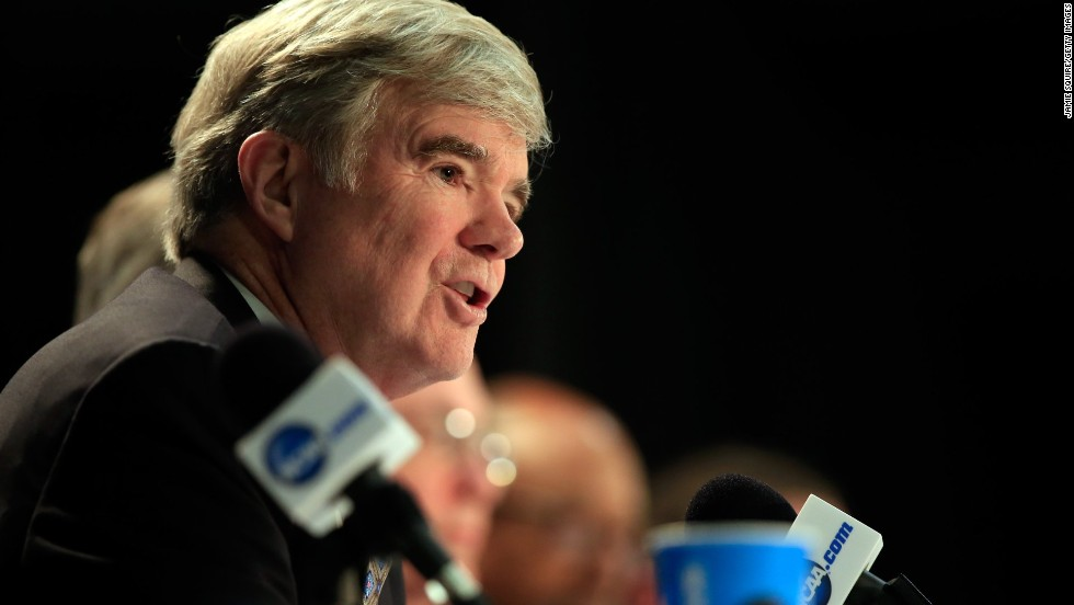 "<strong>NCAA President Mark Emmert:</strong> ""To be perfectly frank, the notion of using a union employee model to address the challenges ... strikes most people as a grossly inappropriate solution to the problems,"" Emmert said. ""It would blow up everything about the collegiate model of athletics."""