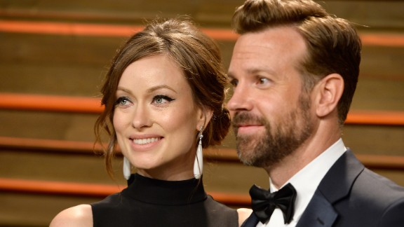 Olivia Wilde and Jason Sudeikis are the proud parents of an infant son, Otis.