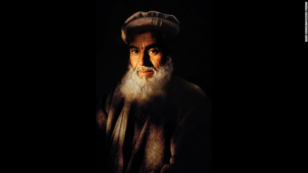 A farmer in Jalalabad, 1992.