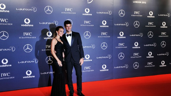 Novak Djokovic and his girlfriend Jelena Ristic are expecting their first child.